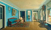 Kapiton ZELENTSOV. Inside the Rooms. Sitting-room in the Attic. End of the 1820s - early 1830s
