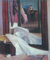 Grigory SOROKA. Reflection in a Mirror. Second half of the 1840s
