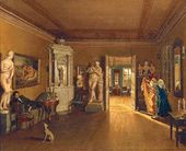 Fyodor SLAVYANSKY. Alexei Venetsianov's Study. End of 1830s - early 1840s