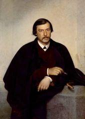 Ivan KRAMSKOI. Portrait of Mikhail Tulinov. 1868