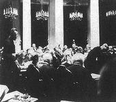 Session of the State Council in the Mariinsky Palace. Left part of the hall. 1901