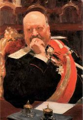 Ilya REPIN. Portrait of Alexei Ignatyev. 1902