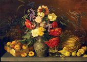 Fruit and Flowers. 1839