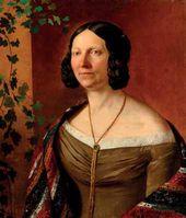 Portrait of Anna Rubtsova. 1841 (?)