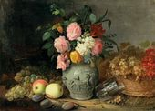 Still-life. Fruit and Flowers. 1839