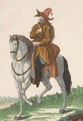 A Kyrgyz Cossack. 1776