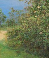 Road by the Sea. Detail