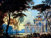 Andrei ROLLER. The Gardens of Chernomor. 1842