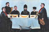 Niko PIROSMANISHVILI. Feast. 1905–1907
