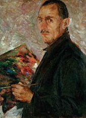 Arkady Plastov. Self-portrait. 1934–1936