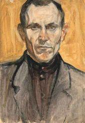 Arkady Plastov. Self-portrait. 1939–1940