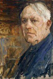 Arkady Plastov. Last Self-portrait. Апрель 1972