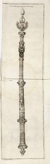 Ivan SOKOLOV. No 22. Imperial Scepter. 1743-1744