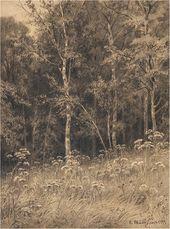 Ivan SHISHKIN. Flowers in a Forest. 1877