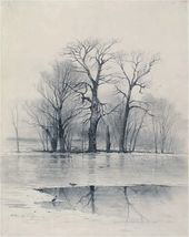 Alexei SAVRASOV. Spring Landscape (Early Spring). 1876