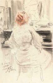 Ilya REPIN. At the Piano. 1905