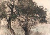 Konstantin SOMOV. Trees. 1897