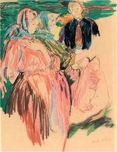 Philipp MALYAVIN. Peasant Women. 1900s