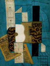 Pablo PICASSO. Guitar. 1913