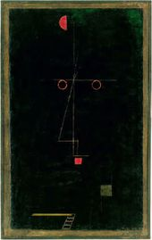 Paul KLEE. Artistenbildnis (Portrait of an Artist). 1927