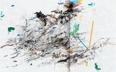 Julie MEHRETU. Rising Down. 2008
