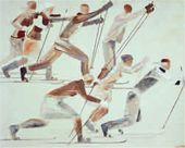 Skiers. 1931