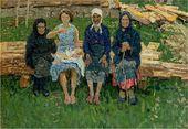 Alexei TKACHEV. Four Women. 1960