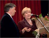 Galina Churak, Laureate of the Pavel Tretyakov Award and Victor Bekhtiev, President of the Pavel Tretyakov Charitable Foundation