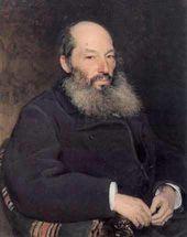 Ilya REPIN. Portrait of the Poet Afanasy Fet. 1882