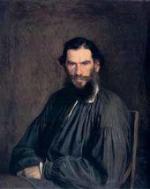 Ivan KRAMSKOI. Portrait of the Writer Lev Tolstoy. 1873