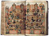 Illuminated manuscript. Revelations. 19th century