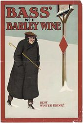 Henry George GAWTHORN. Bass' No. 1 Barley Wine – Best Winter Drink. 1900s