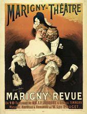 Georges REDON Marigny-revue. 1905
