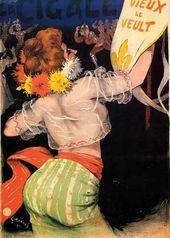 """Jules-Alexandre GRÜN. Café-concert """"La Cigale». 1900"""