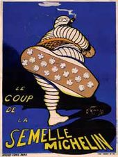 O'GALOP (Marius Rossillon). Le Coup de la Semelle Michelin (The Kick of the Michelin Tread). 1907