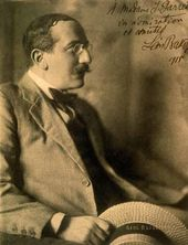 Léon Bakst. Photograph of Bakst inscribed to his patron, Alice Warder Garrett (1877-1952)