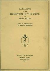 Catalogue of Léon Bakst's exhibition. New York. 1916
