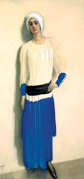 Léon BAKST. Alice Garrett in Costume. 1915