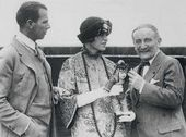 John Garrett, Alice Garrett and Léon Bakst. The USA, 1923-1924