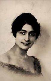 Alice Garrett. 1910s.