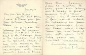 Arthur Selig's letter to Léon Bakst. June 21 1923