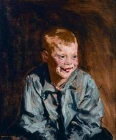 Robert HENRI. Dutch Joe (Jopie van Slouten). 1910