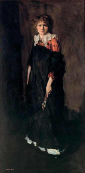 Robert HENRI. The Art Student (Miss Josephine Nivison). 1906