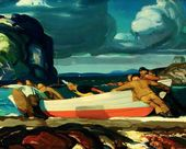 George BELLOWS. The Big Dory. 1913