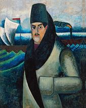 Ilya MASHKOV. Self-portrait. 1911