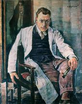 Nikolai ZAGREKOV. Self-portrait. 1952