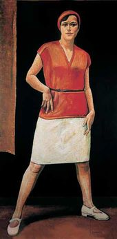 Nikolai ZAGREKOV. Female Athlete. 1928