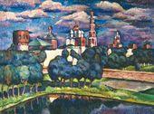 Ilya MASHKOV. Novodevichy Convent. 1912–1913