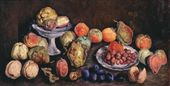 Ilya MASHKOV. Fruit from an Agricultural Exhibition. Quince and Peaches. 1939