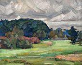 Nikolai ZAGREKOV. Landscape. 1920-е